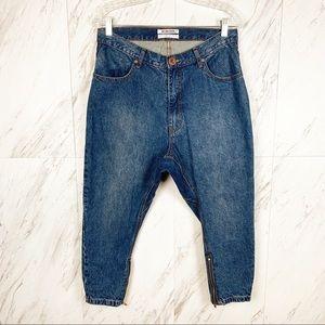 ONE By One Teaspoon Kingpins Drop Crotch Jeans